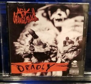 Anybody Killa - Deadly CD insane clown posse twiztid abk psyhcopathic rydas icp