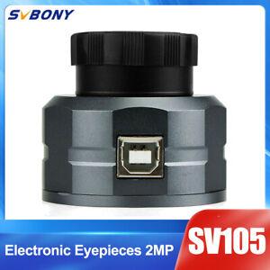 "SV105 1.25"" Telescope Camera Electronic Eyepieces 2MP Astrophotography USB2.0"