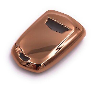 Auto Schlüssel Cover Hülle Soft Silikon Case Für div Mini Cooper Fahrzeuge Gold