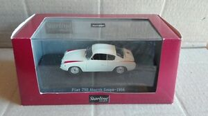 DIE-CAST-034-FIAT-750-ABARTH-COUPE-039-1956-WHITE-034-STARLINE-SCALA-1-43