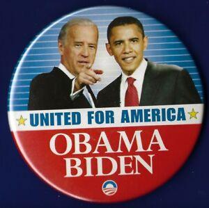 For President Barack Obama 2008 Eagle Political Campaign Pin Pinback Button