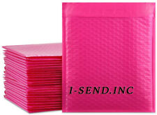4 95x145 Poly Bubble Mailers Shipping Mailing Padded Bags Envelopes Color