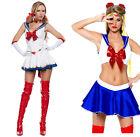 Sailor Moon Dress Girls Sailor Suit Cosplay Party Dress Fancy Dress Lady Costume