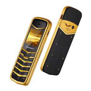 Struttura in Metallo Ultra Sottile Telefono Cellulare mparty V7+ Super Mini Cellulare Bluetooth