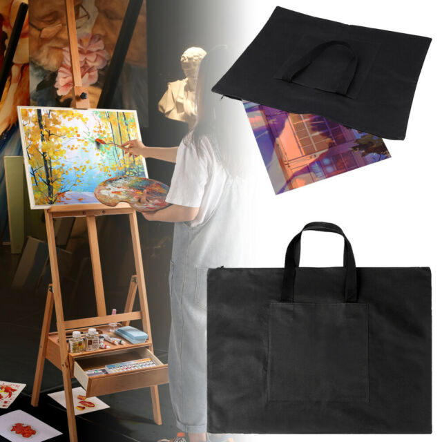 Waterproof Board A2 Drawing Painting Board Storage File Bag Document Carry Case