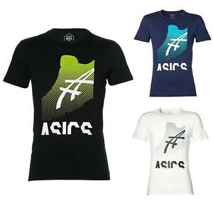 Asics GPX Kayano Tee T-Shirt Top Herren Sport Casual Fintess Kurzarm