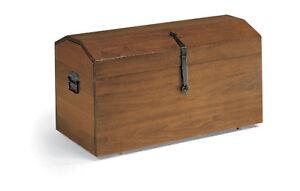 kofferraum beh lter truhe w schekorb t r k gelchen h lzern mit r dern ebay. Black Bedroom Furniture Sets. Home Design Ideas