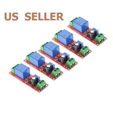 Us Ship 5pcs Dc 12v Delay Relay Shield Ne555 Timer Switch Adjustable Module