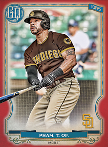 2020 Topps BUNT Tommy Pham Gypsy Queen RED Base ICONIC! [DIGITAL CARD}