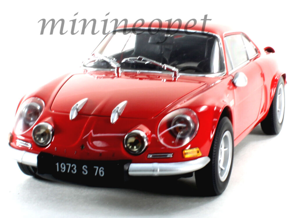KYOSHO 08484 R RENAULT ALPINE A110 1600S 1 18 DIECAST MODEL CAR RED