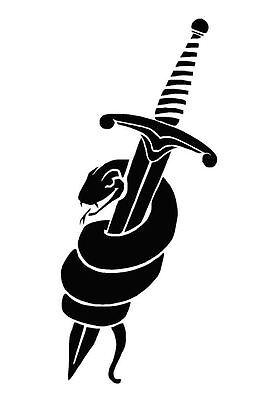 CELTIC//GOTHIC//TRIBAL Dragon MYLAR Stencil REUSABLE art 125//190 micron A5//A4//A3