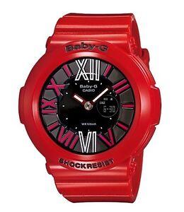 Casio Baby-G * BGA160-4B Neon Illuminator Gloss Red Women COD PayPal