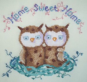 KL99-Home-Sweet-Home-Owl-Counted-Cross-Stitch-Kit-by-Genny-Haines