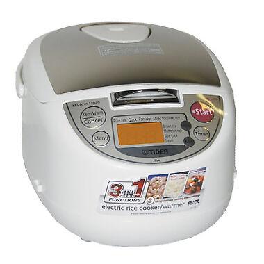Tiger JBA-T10U 5.5-Cup Micom Rice Cooker w/Food Steamer
