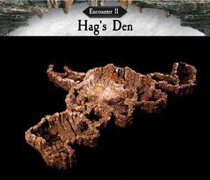 NEW-Encounter-11-Hag-039-s-Den-Dwarven-Forge-Caverns-Deep-D-amp-D-Tiles-Dwarvenite