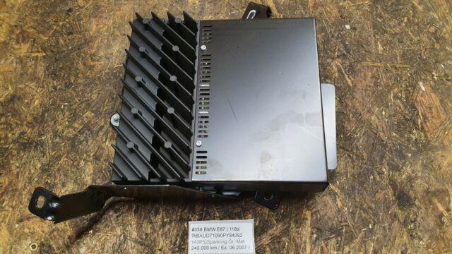 #058 BMW 1er E81 E87 3er E90 E91 LCI Verstärkter Audiosystem HiFi 9143155