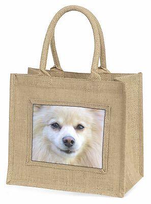 Japanisch Spitz Hund Große Natürliche Jute-einkaufstasche Weihnachten