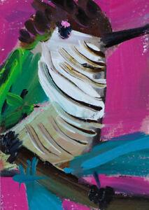 Shining-Cuckoo-Bird-Oil-Painting-ACEO-Angela-Moulton