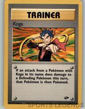 2000 pokemon Gym Challenge Koga 106/132