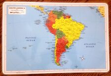 Learning Placemats - South America *NEW* M. Ruskin Co.