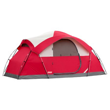 COLEMAN 8-PERSON TENT WATERPROOF WEATHERTEC INSTANT CAMPING HIKING OUTDOOR
