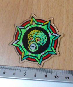 Bally 1999 Revenge From Mars Promotional Plastic Keyfob alien head