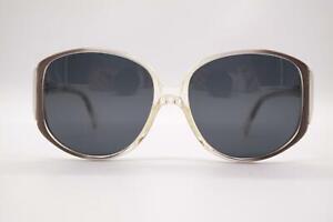 Vintage-Rodenstock-225-Transparent-Violet-Silver-Oval-Sunglasses-N