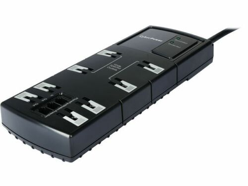 CyberPower 4 Ft. 8 Outlets Surge Protector