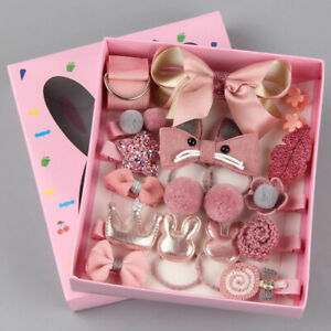 18Pcs-set-Baby-Girl-Bow-Knot-Hair-Clips-Cute-Flower-Barrette-Hairpins-Kids-Gift