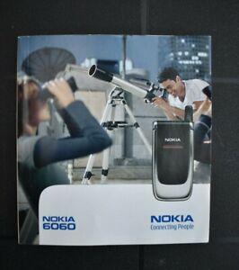 Nokia 6060 Bedienungsanleitung Gebrauchsanweisung  Handy Telefon