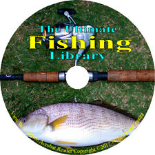 161 Fishing Books on DVD, Fly Fishing Angler Fish Boat Catch Angling How to