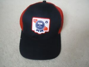Pabst Blue Ribbon Beer PBR Music Baseball Hat Cap One Size Fits All ... 8cf78723abd