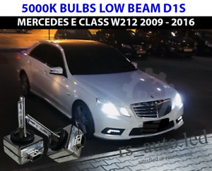 Details about 2x D1S Xenon White 5000K Bulbs Replacement Low Beam Mercedes  E Class W212 09-15
