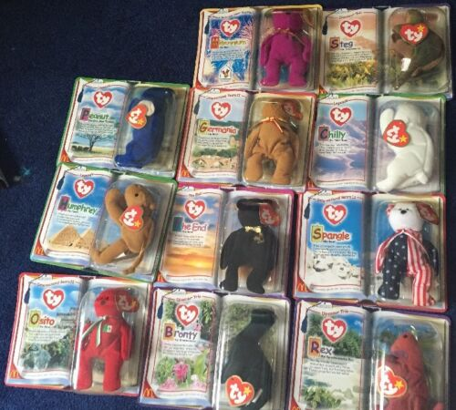 2000 Ty McDonald's Teenie Beanie Babies Complete Collection