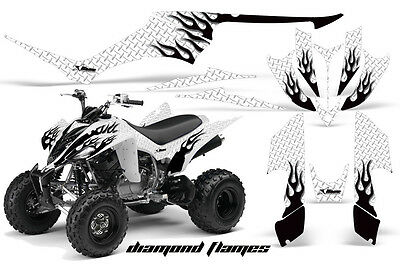 ATV Decal Graphic Kit Quad Sticker Wrap For Yamaha Raptor 350 2004-2014 MAD S R
