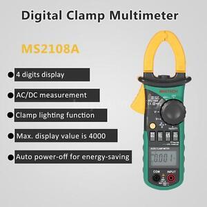 Multimeter-Voltmeter-Stromzange-Zangen-AC-DC-Gleichstromzange-Zangenamperemeter