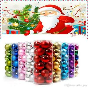 24-Pcs-Christmas-Baubles-Ornaments-Xmas-Tree-Balls-Hanging-Home-Party-Decoration
