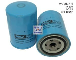 WESFIL-OIL-FILTER-FOR-Nissan-Terrano-II-2-7L-TD-1997-2000-WZ503NM