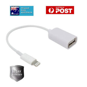 huge selection of f9e99 77a4e Details about iOS11 Lightning to USB OTG Adapter Cable for iPad Mouse  Camera iPhone Keyboard