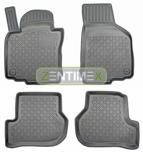 Z330891 SET Kofferraumwanne Gummifußmatten für Skoda Octavia Combi Family 2 1Z V