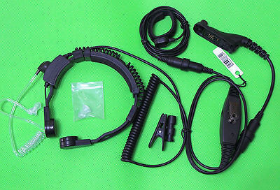 Heavy Duty Throat Vibration Mic For Motorola APX7000 APX6500 DP3601 DGP-4150