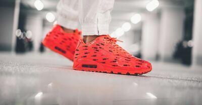 Nike Air Max 90 Premium Mens 700155 604 Bright Crimson