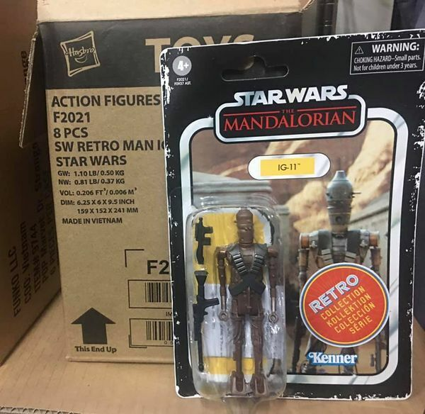 STAR WARS Retro Collection The Mandalorian IG-11 Action Figure 3.75  Fast Ship