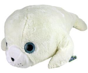 Robbe weiß kuscheltier Stofftier Arktis & Antarktis