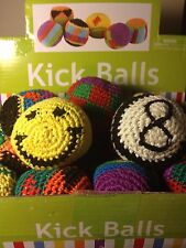 Hacky Sack - Foot Bead Bag - Kick Balls - Hackey Sack - Stall Trick Panel Bag