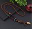 Lange-Halskette-Nepal-Boho-Anhaenger-Retro-Vintage-Holz-Handgefertigt-Perlen Indexbild 17