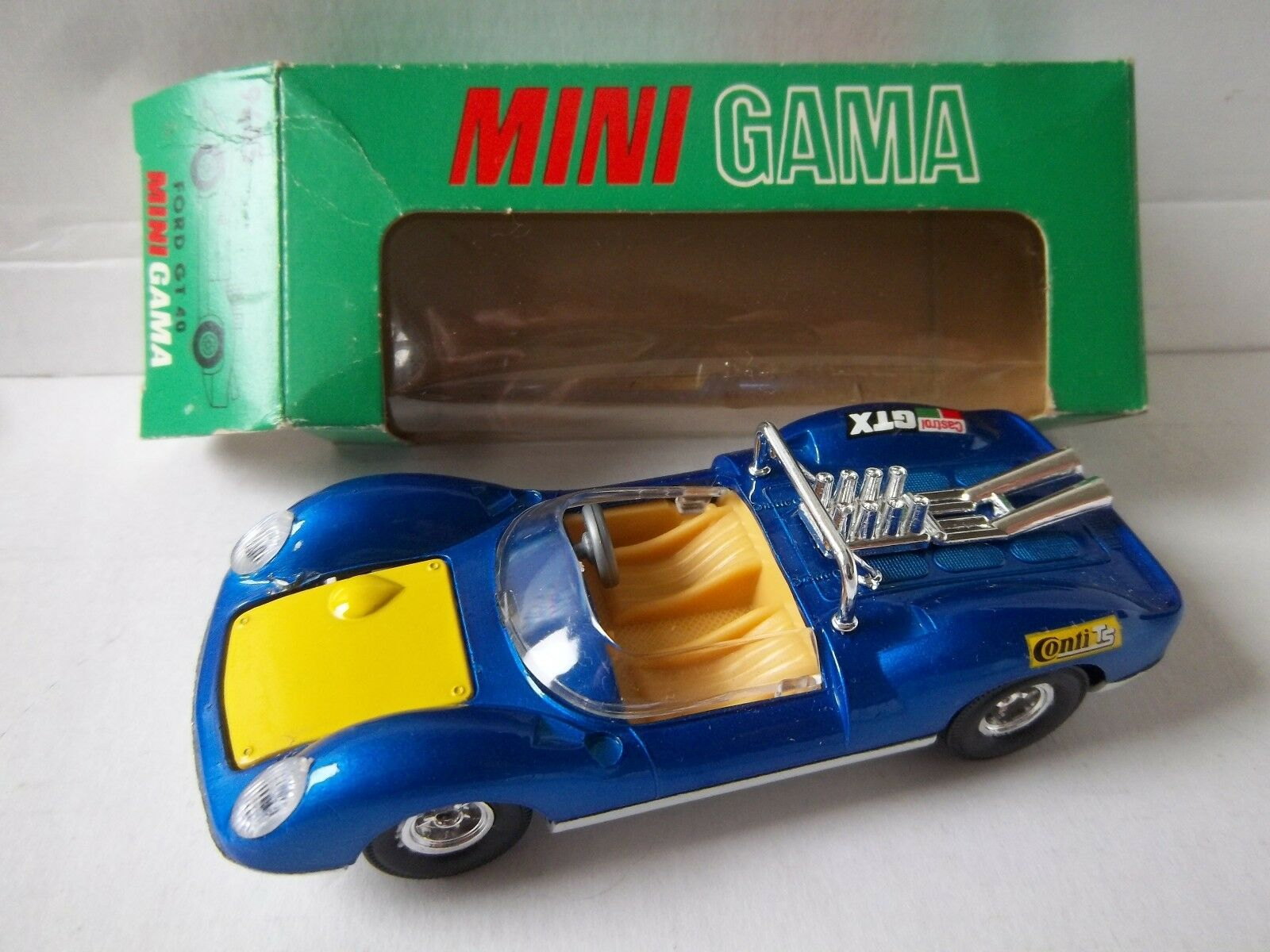 Mini Gama Ford GT 40 Immaculate Boxed 1 39 Lotus