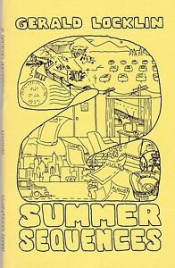 GERALD-LOCKLIN-2-SUMMER-SEQUENCES-1979-POETRY-COLLECTION-PLUS-LETTER