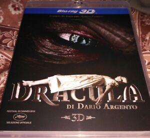 DRACULA di Dario ARGENTO -BLU-RAY 3D RARISSIMO FUORI CATALOGO - Italia - DRACULA di Dario ARGENTO -BLU-RAY 3D RARISSIMO FUORI CATALOGO - Italia