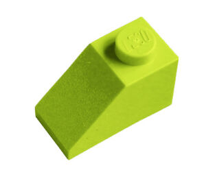 25 Or 50 Pieces Angle Dark Earth GREEN Slope Roof Tile 1X2 // 45 D LEGO 3040
